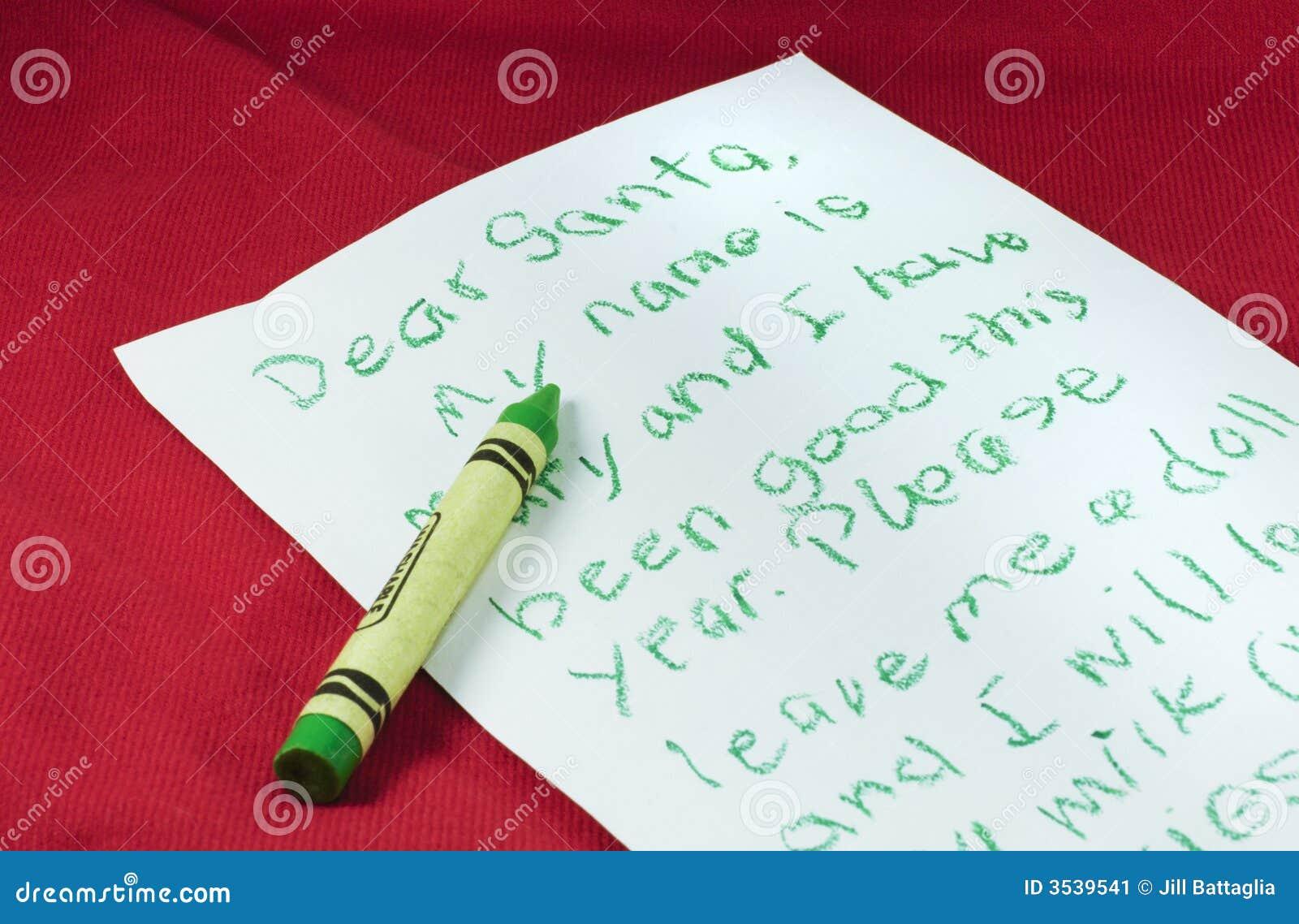 信函圣诞老人