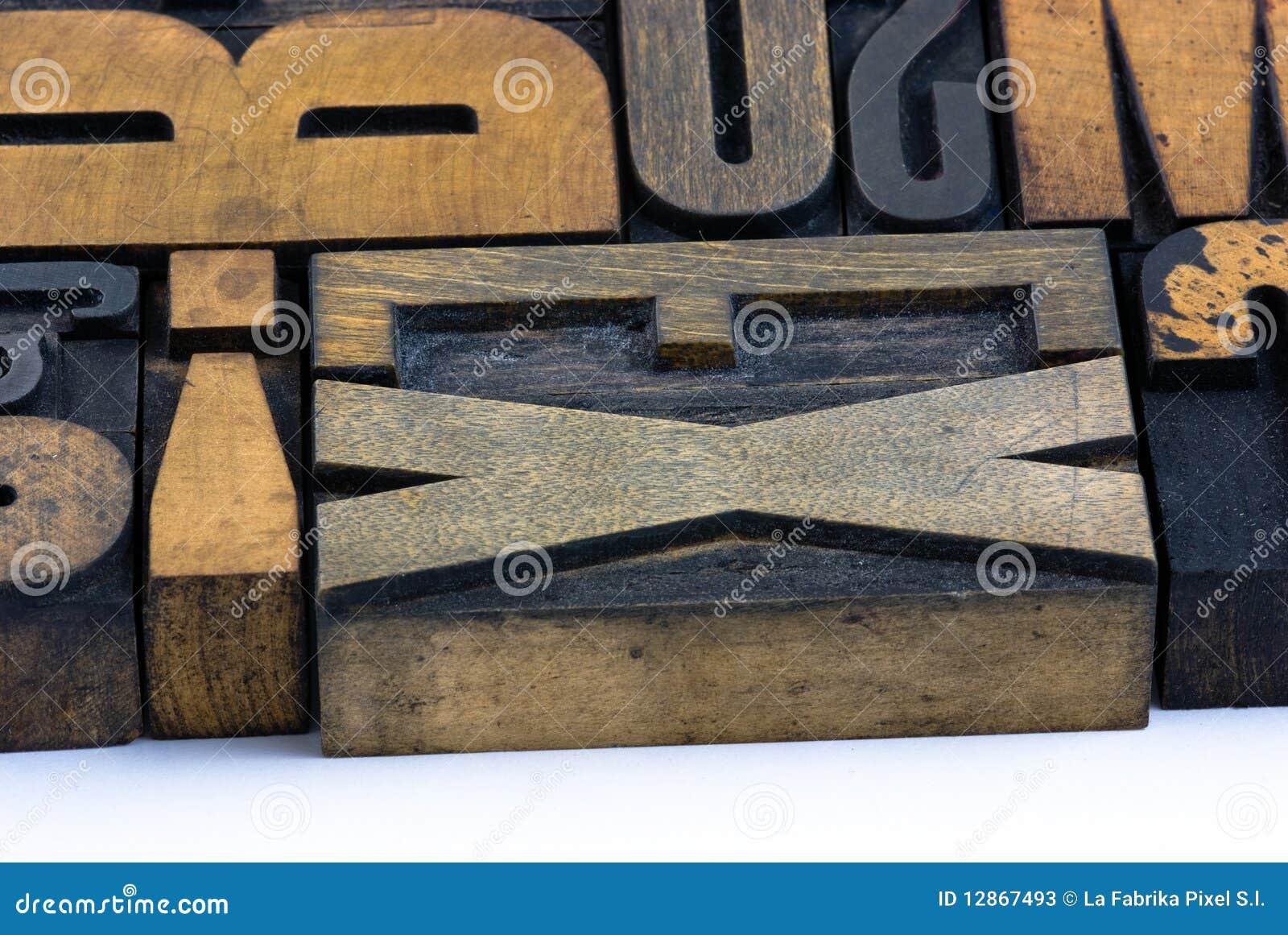 信函打印木