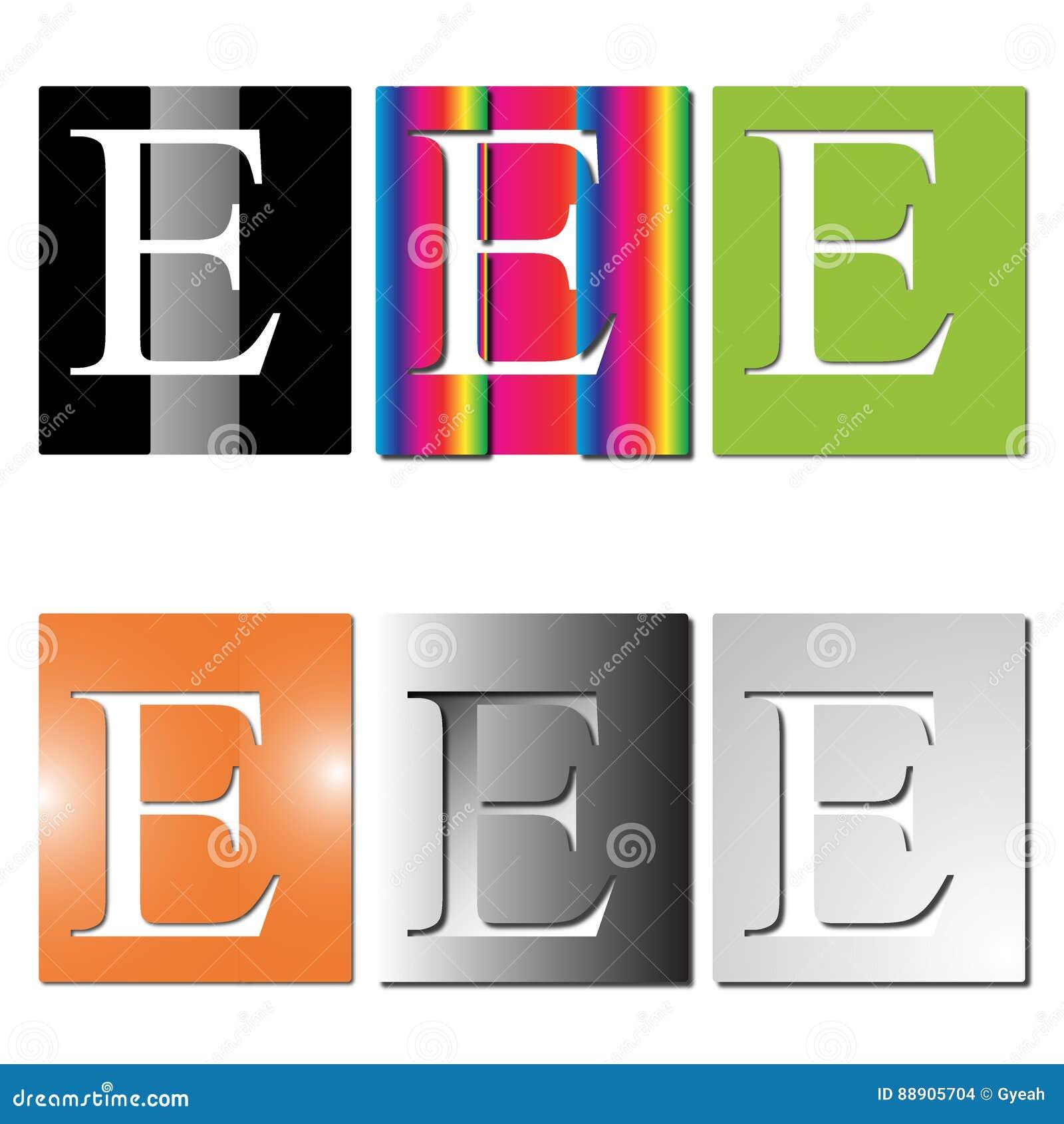 信函E徽标