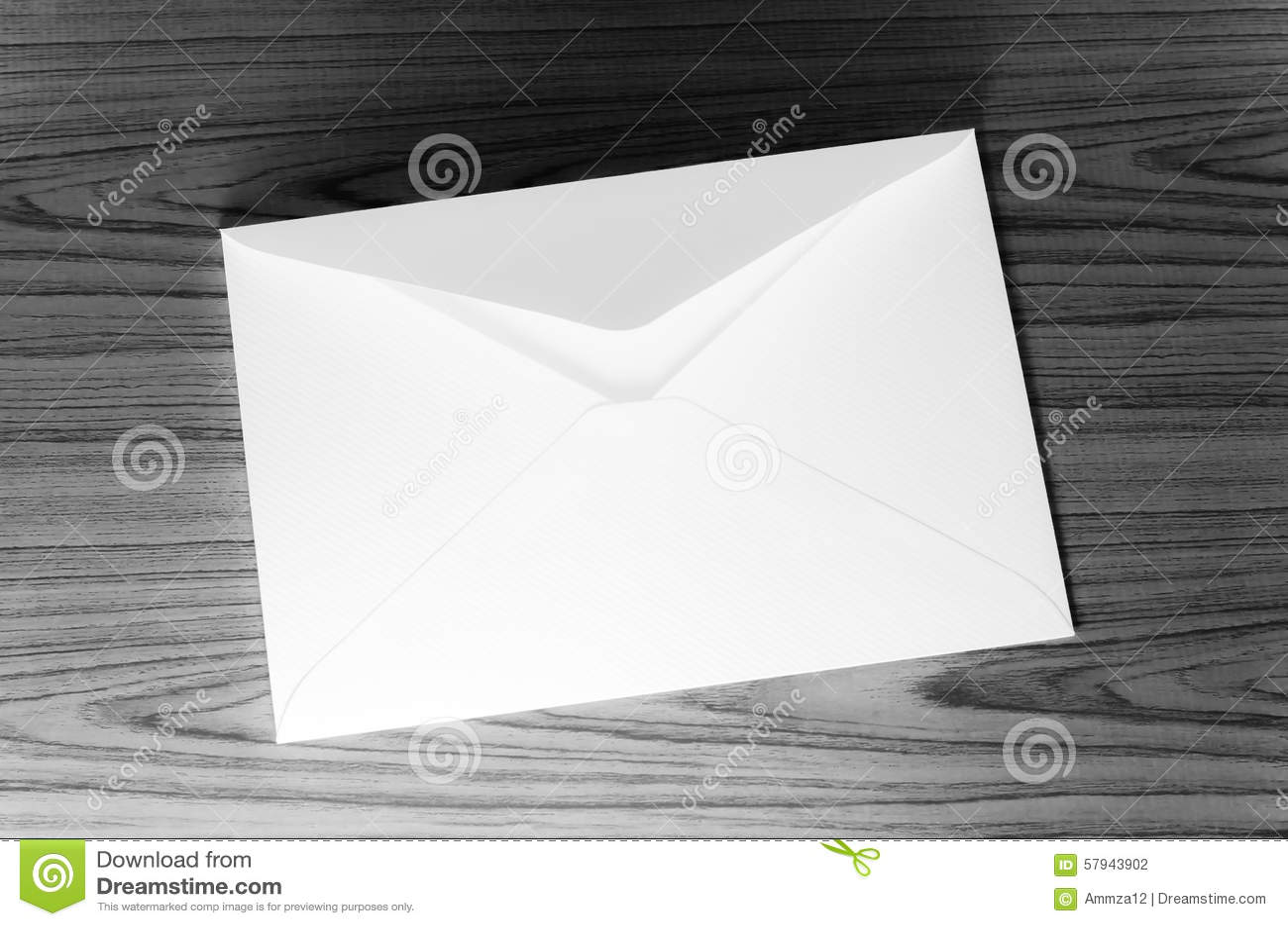 信封黑白颜色口气样式