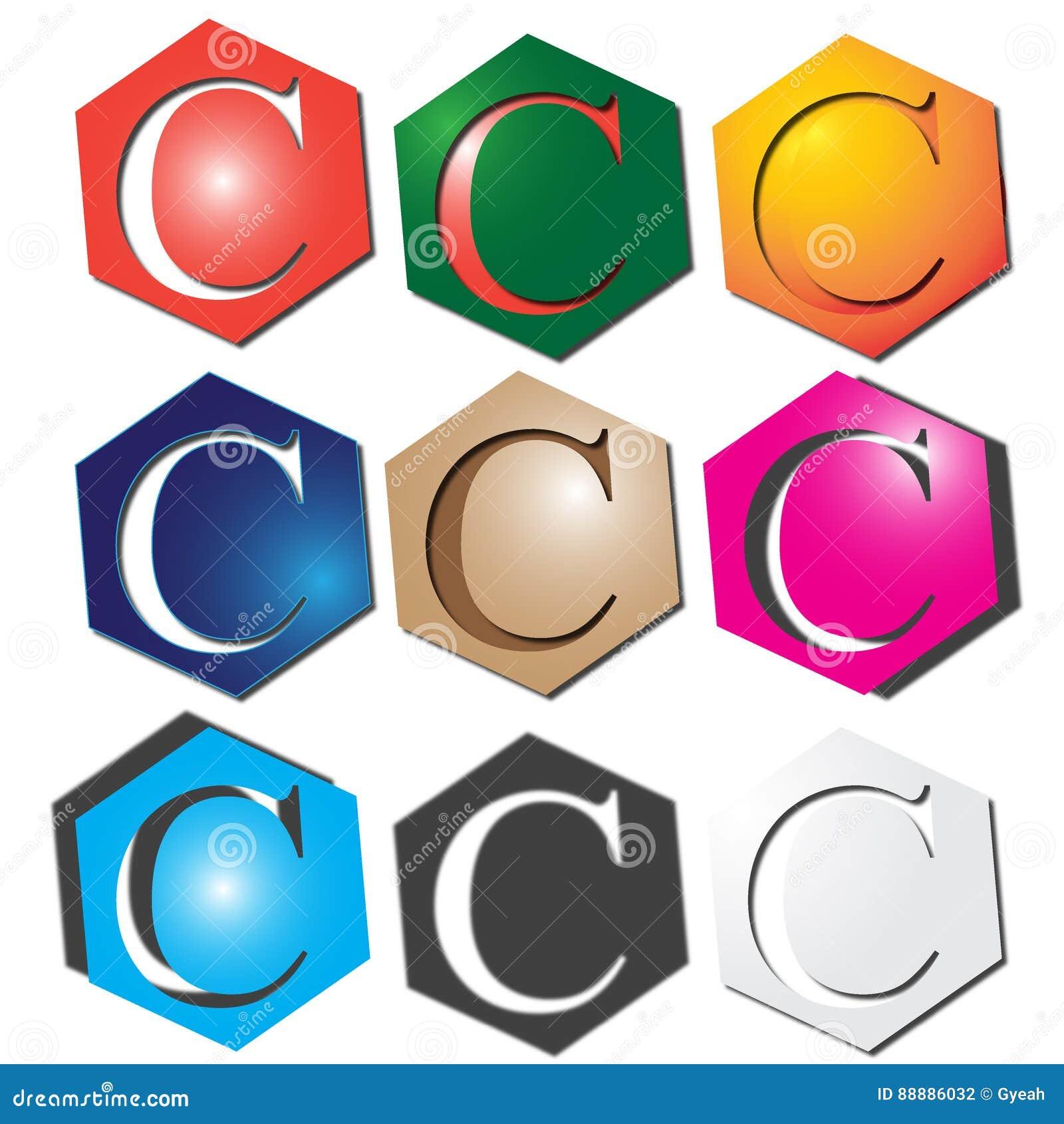信件C商标