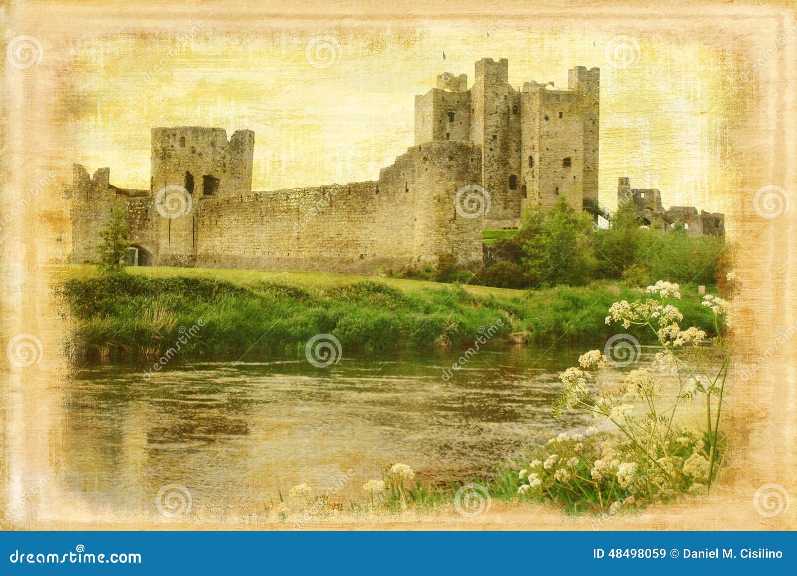 修剪城堡 修整 爱尔兰
