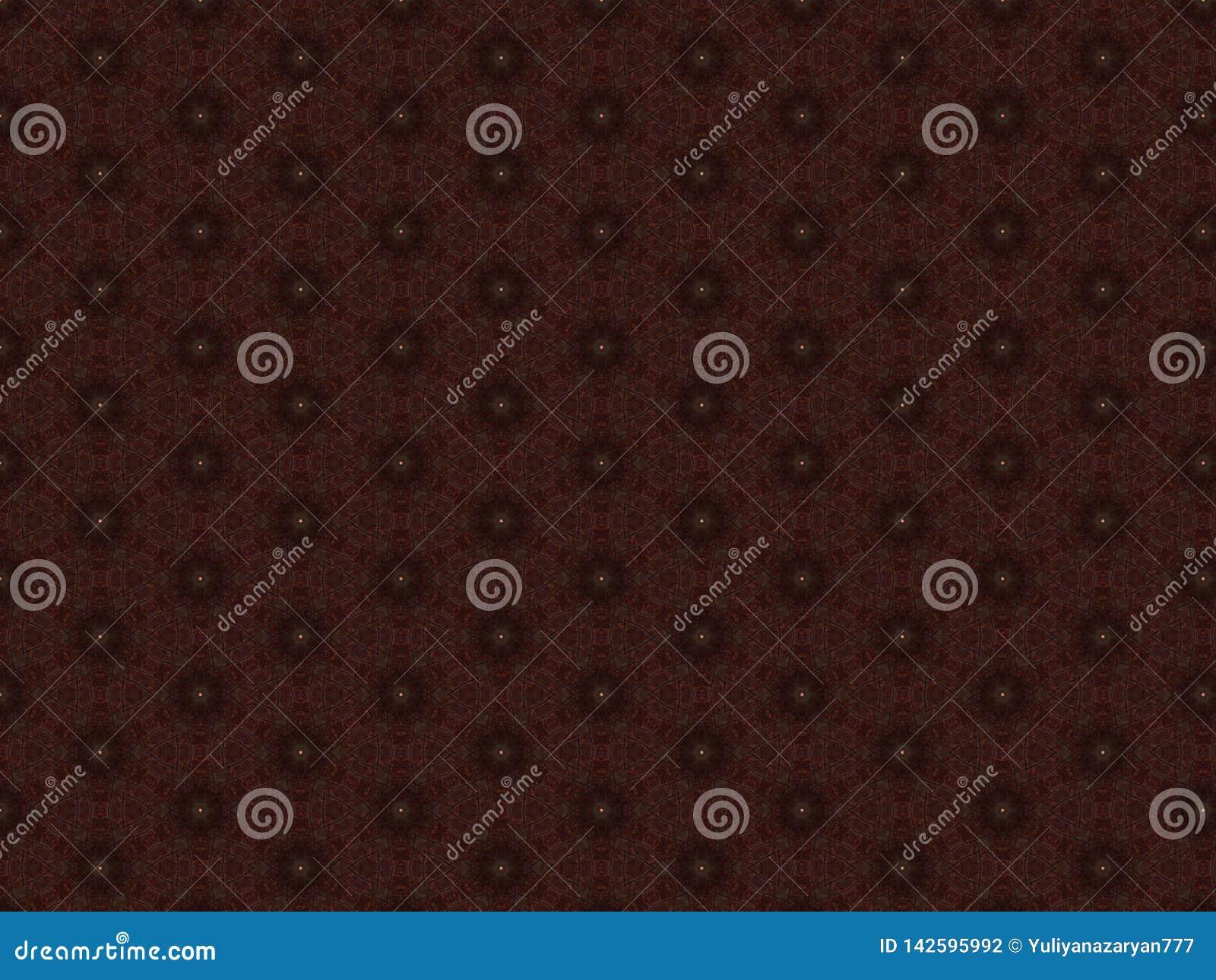 修剪家具的红色皮革材料有与黄色按钮的透雕细工样式的以星的形式