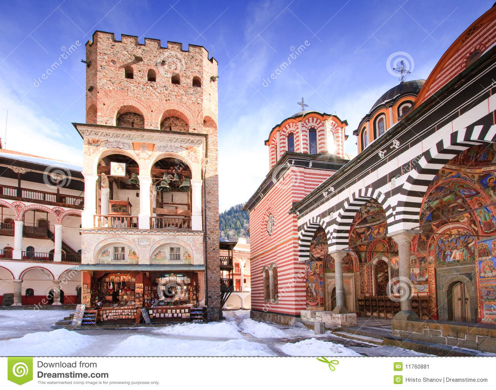 修道院rila