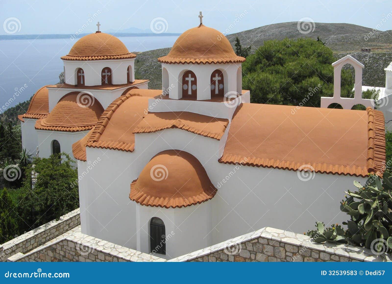 修道院Savvas,卡林诺斯岛的教会