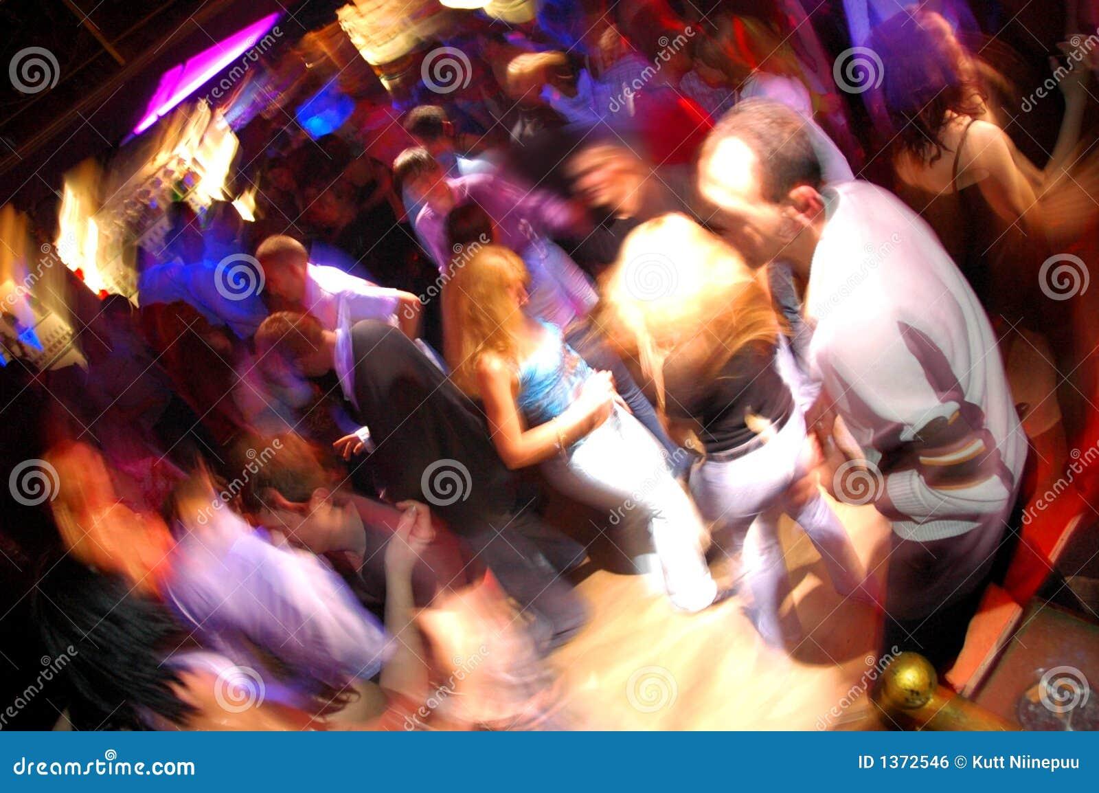 俱乐部跳舞迪斯科晚上人