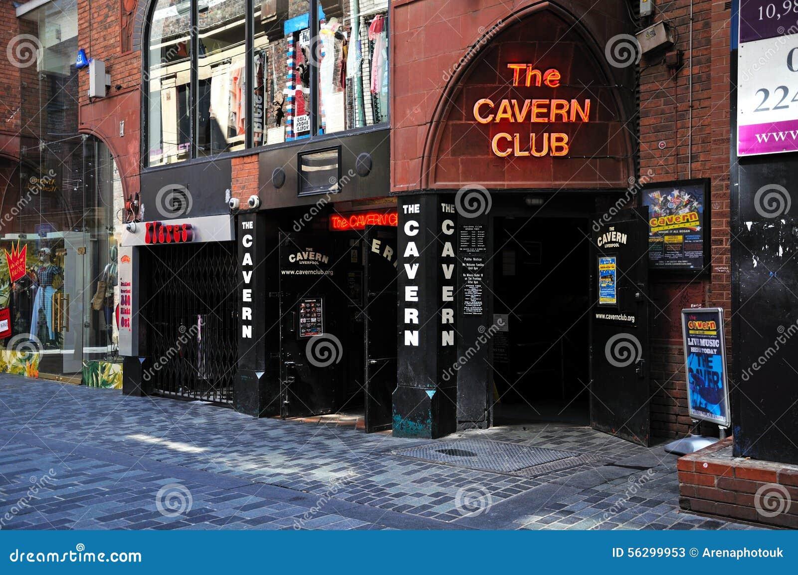 洞穴俱乐部,利物浦