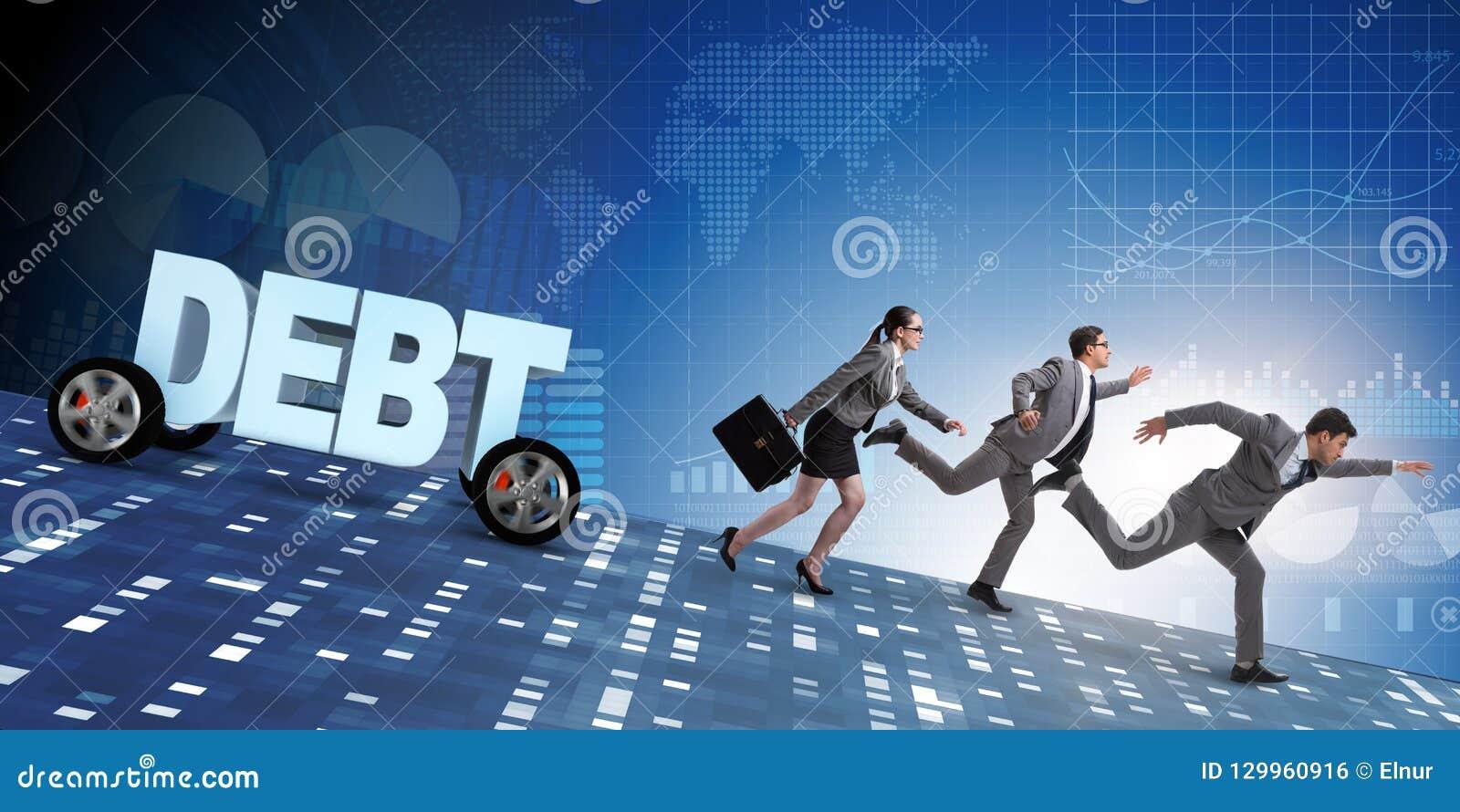 债务和借用的企业概念