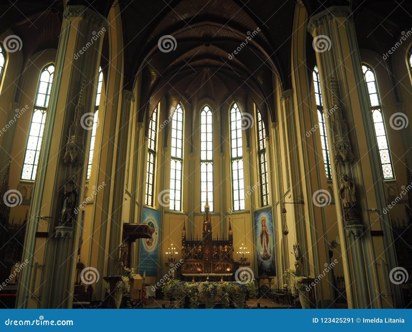 假定大教堂的圣玛丽,雅加达
