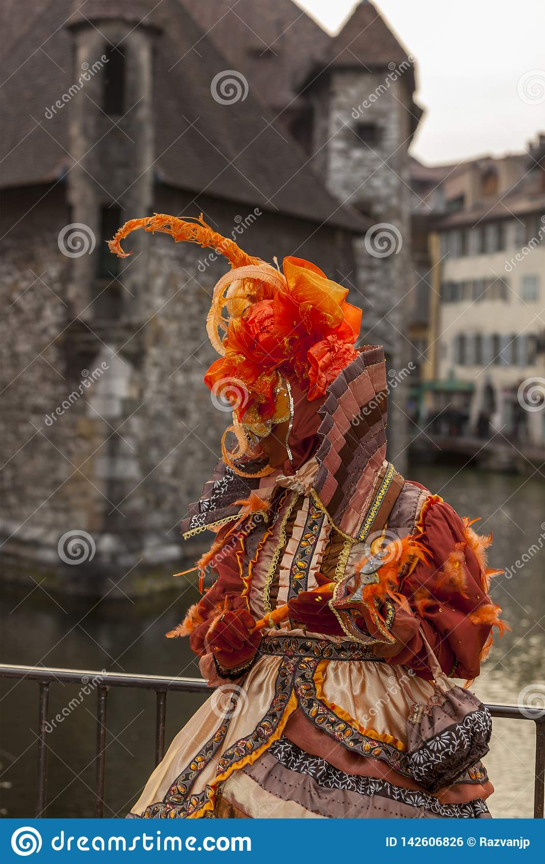假装的人-阿讷西威尼斯式狂欢节2014年