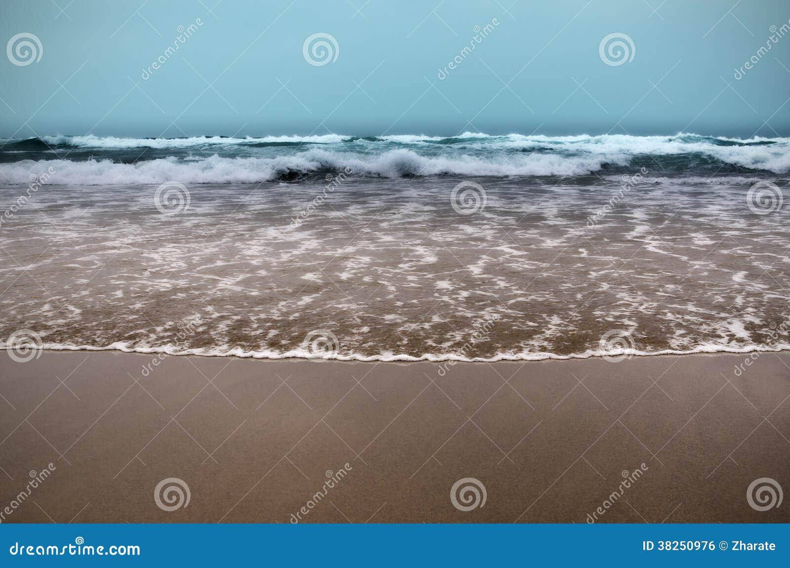 偏僻的海滩