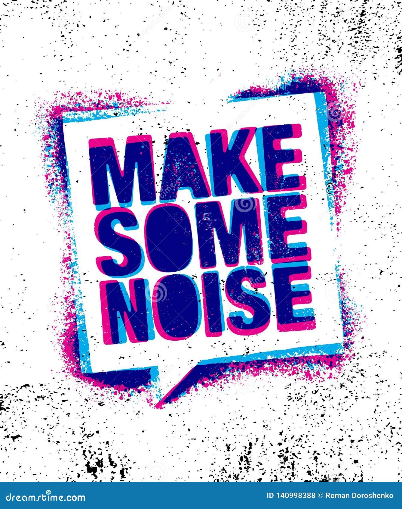 做噪声一些 都市富启示性的创造性的刺激行情海报模板 传染媒介印刷术横幅设计观念
