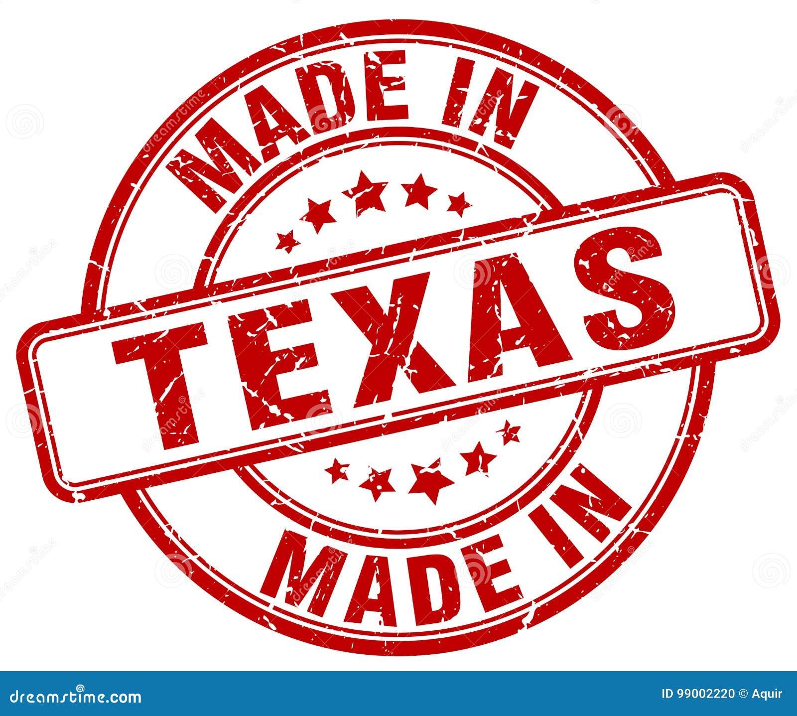 做在得克萨斯邮票