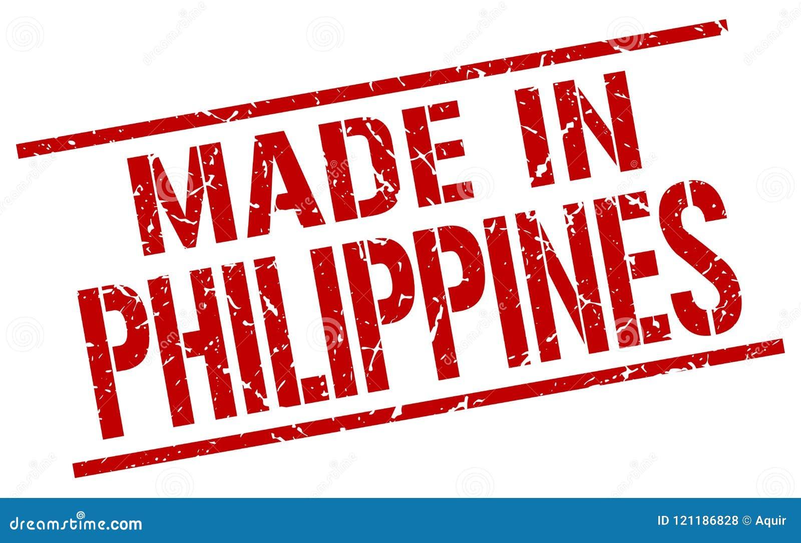 做在菲律宾邮票