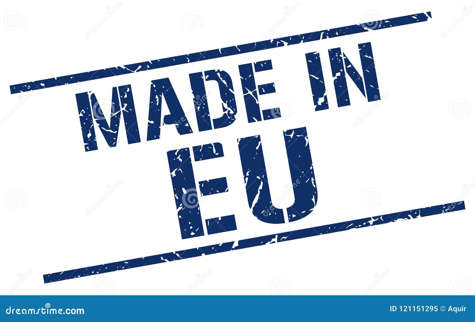 做在EU邮票
