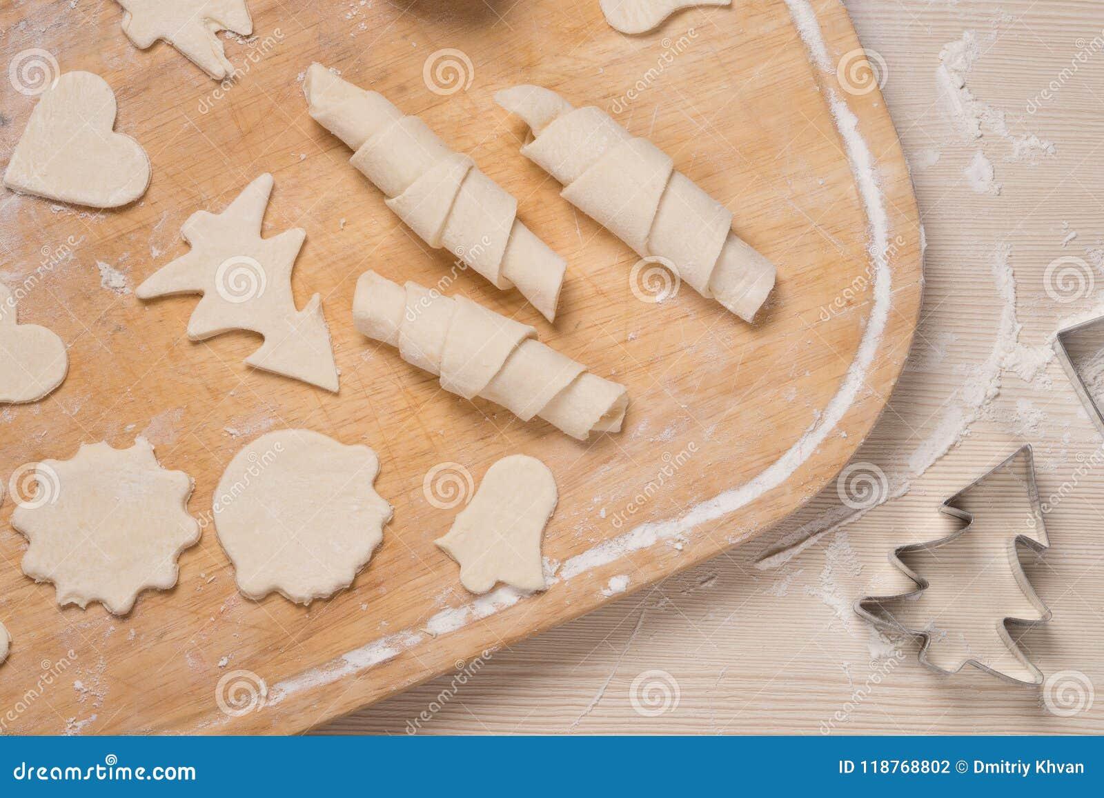 做姜曲奇饼和百吉卷的过程