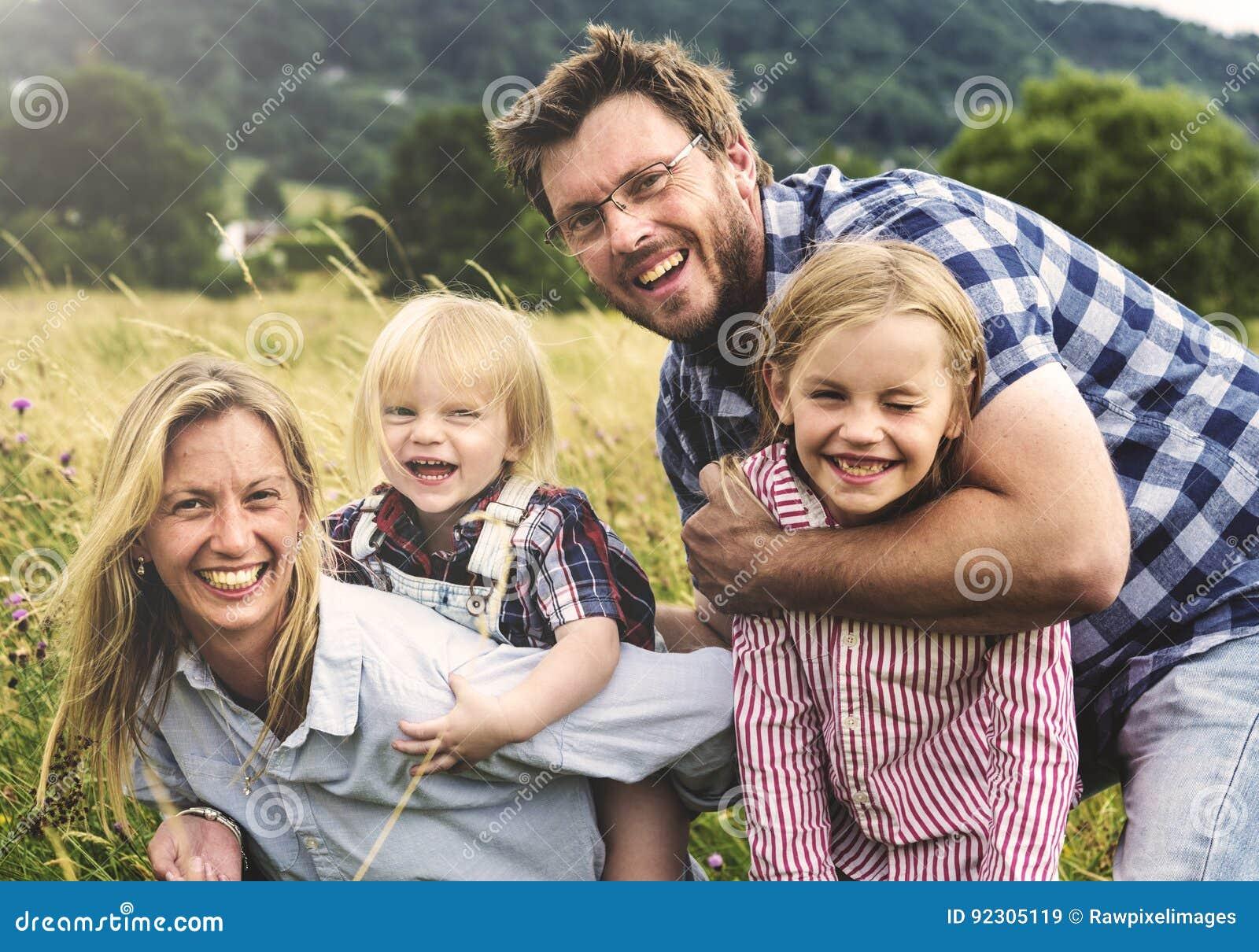 做父母统一性领域自然概念的家庭世代