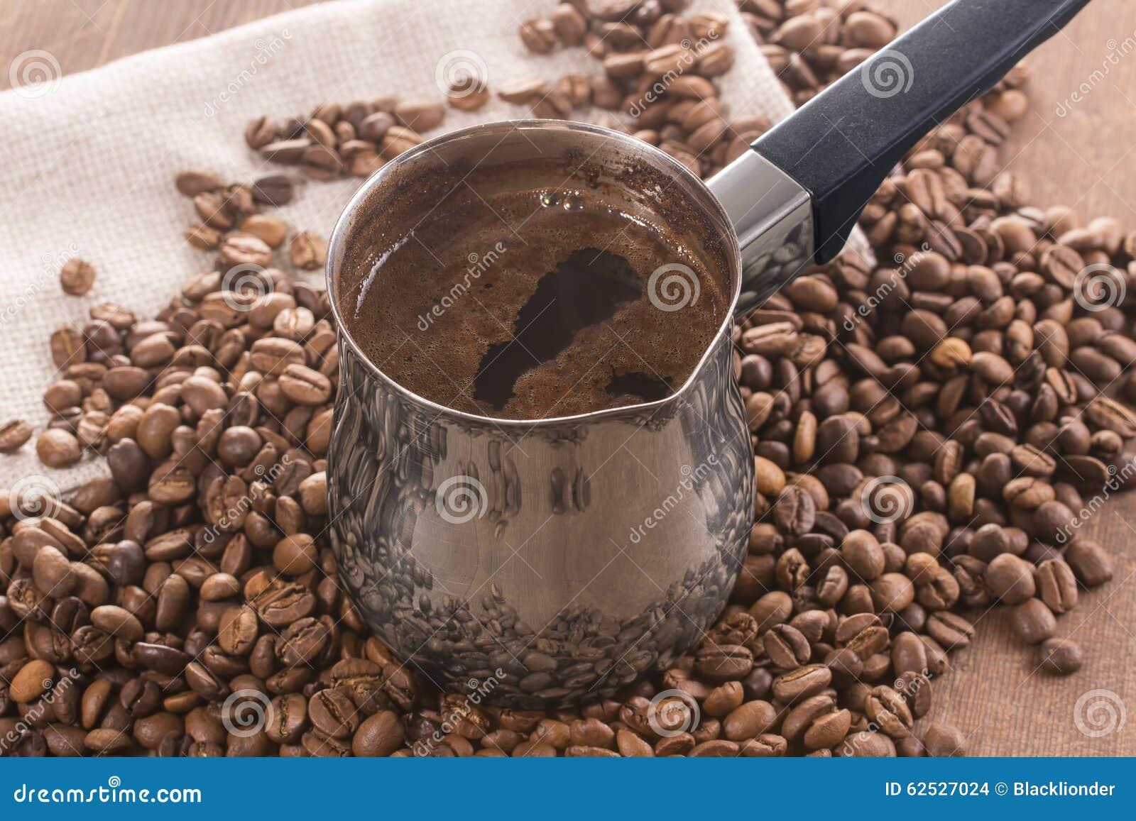 做的咖啡土耳其人