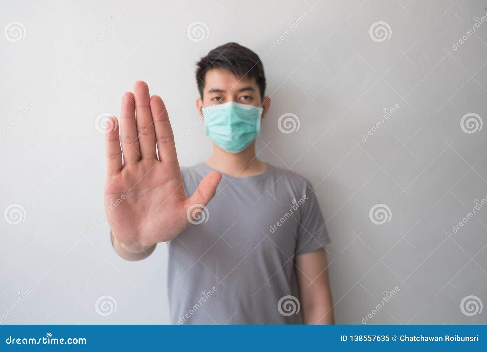 停止传染!健康人陈列姿态