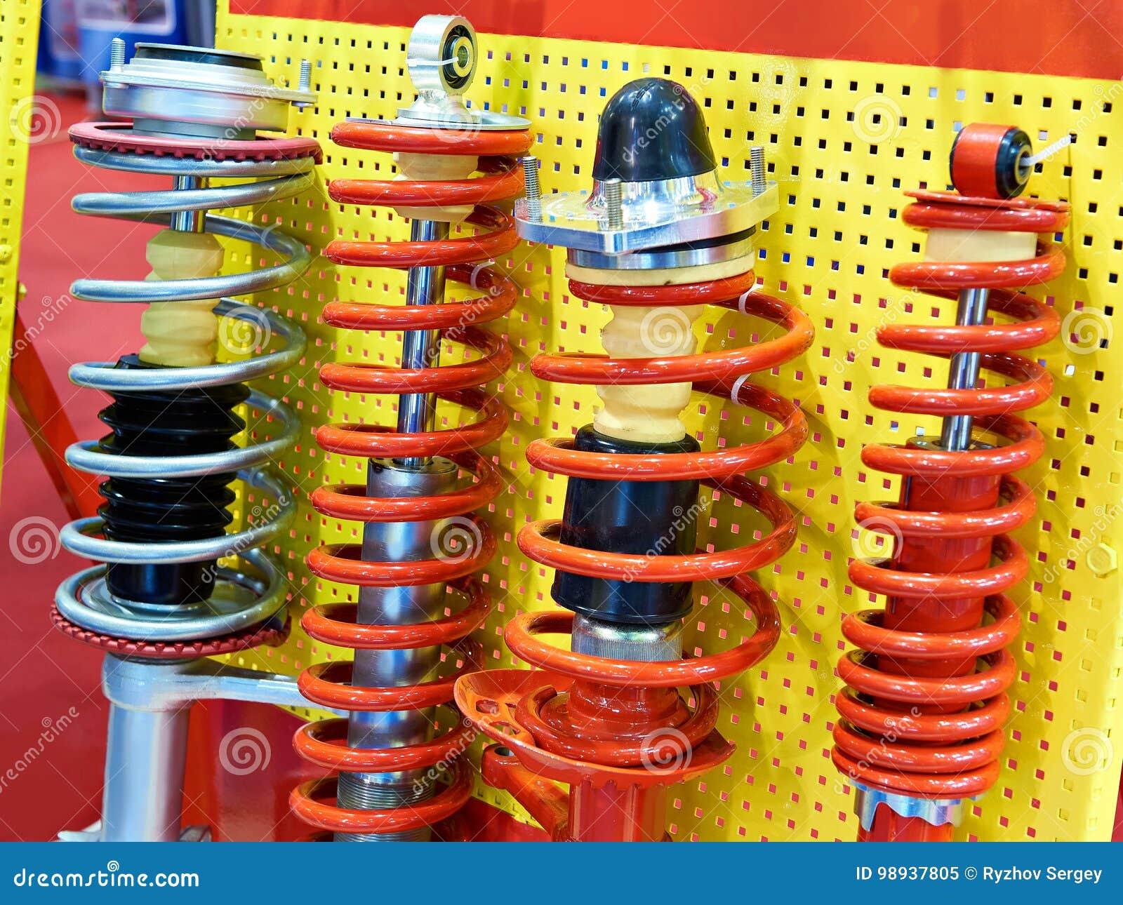 停止缓冲器汽车在汽车零件商店