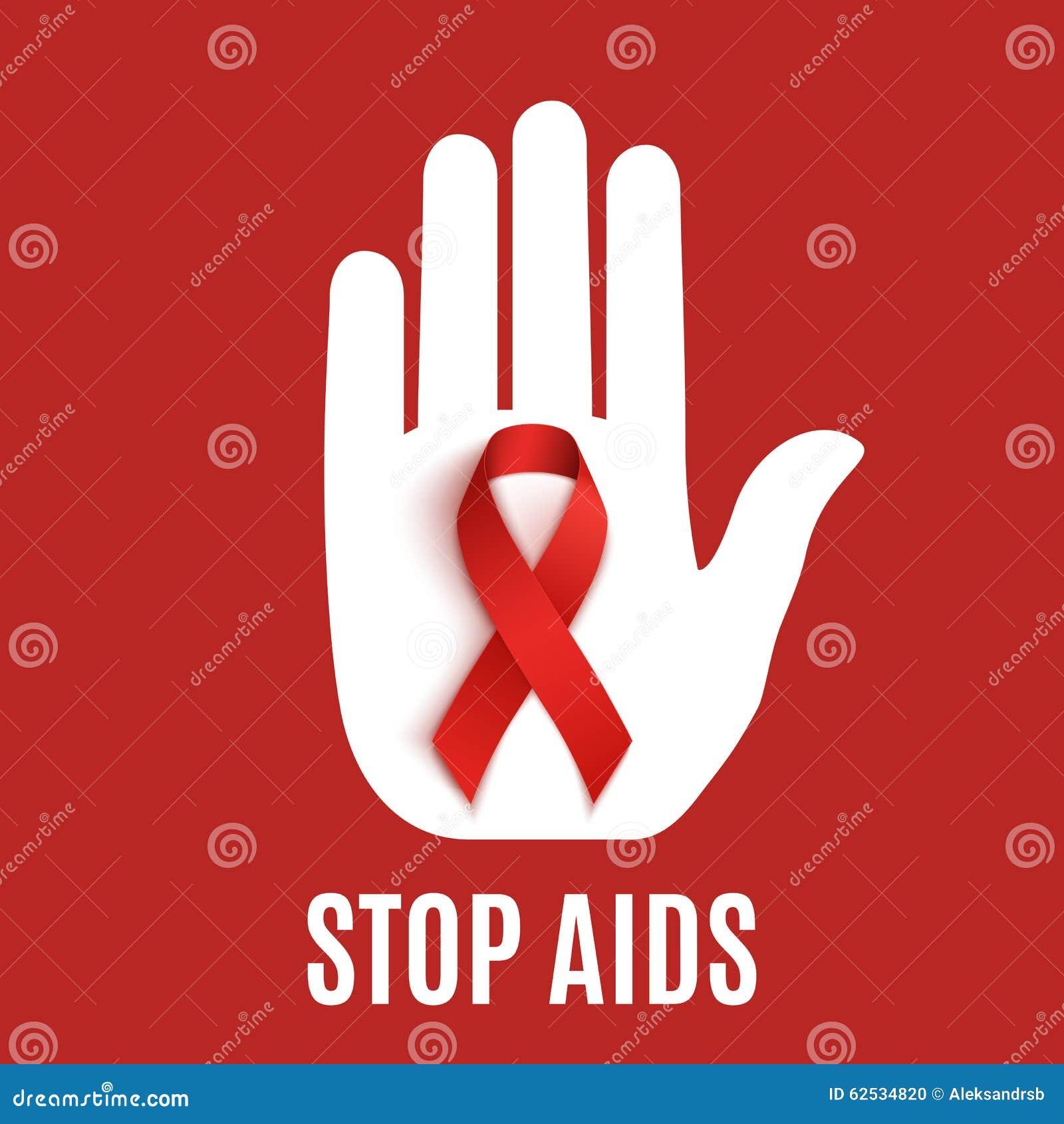 停止艾滋病背景