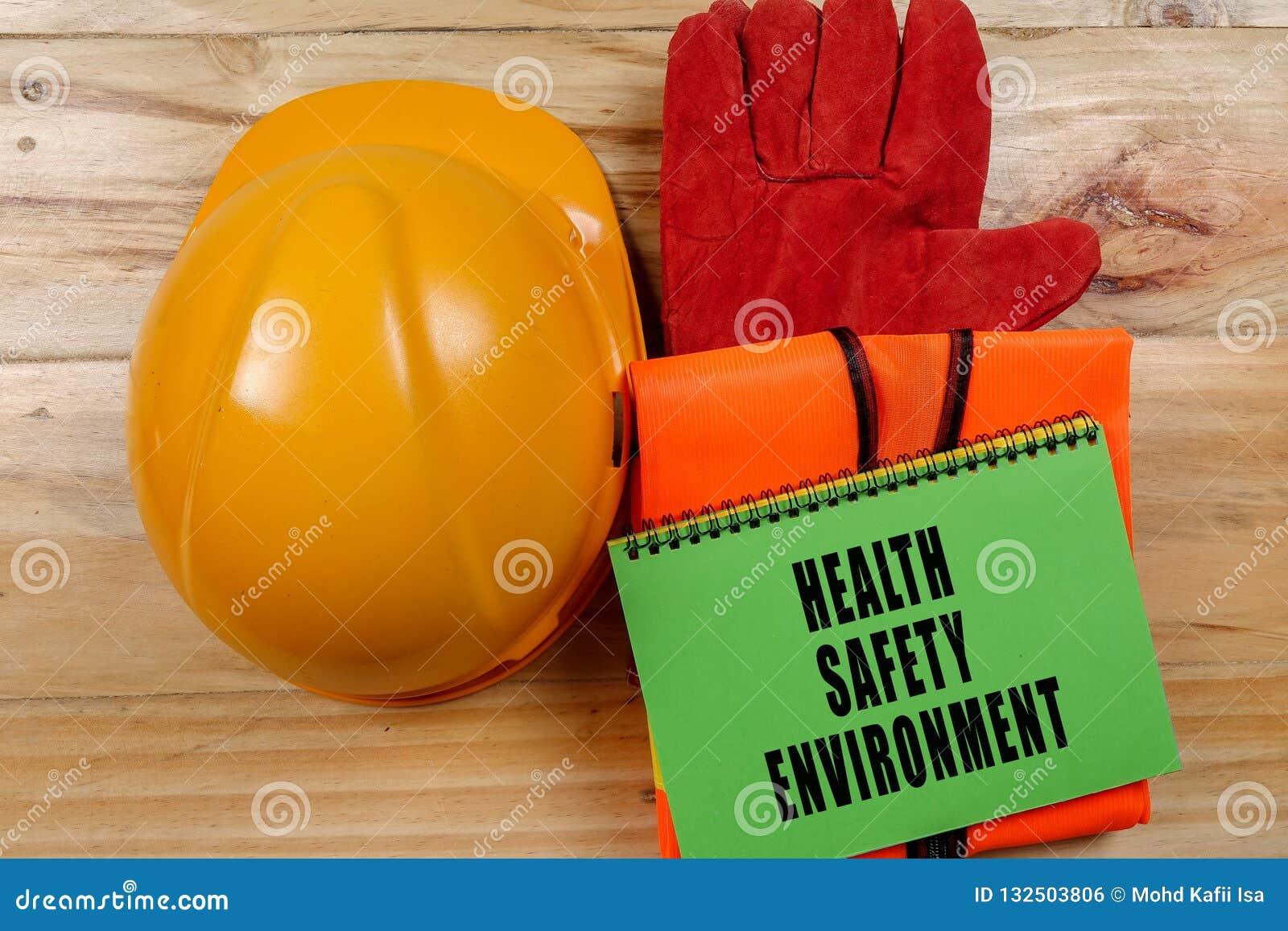 健康、安全&环境概念性与一般文本和st