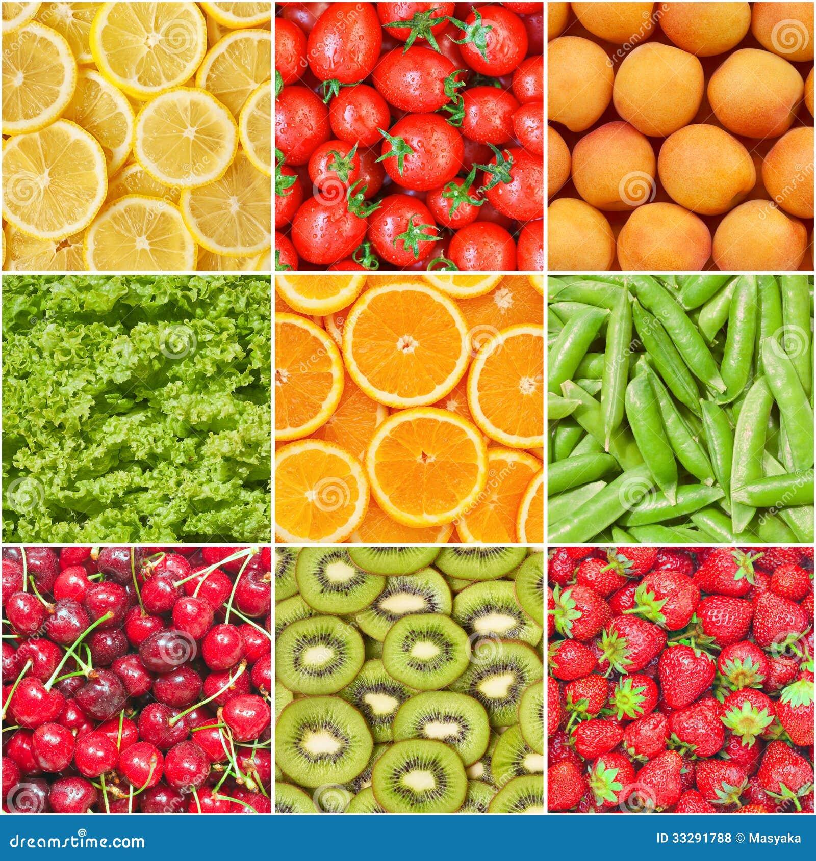 健康食物背景。