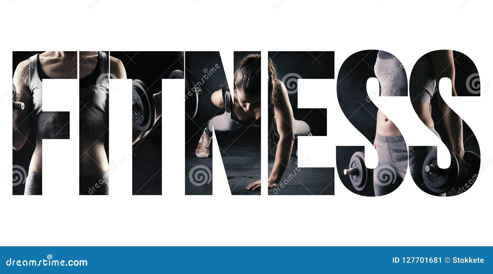 健身、健康生活方式和体育概念