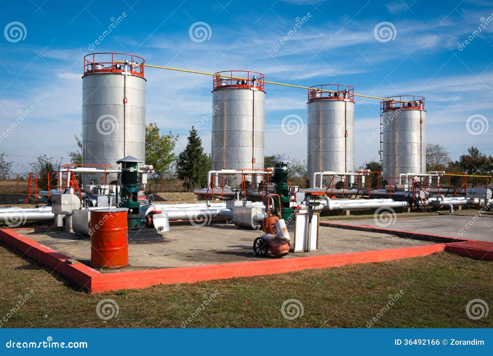 储油和管道