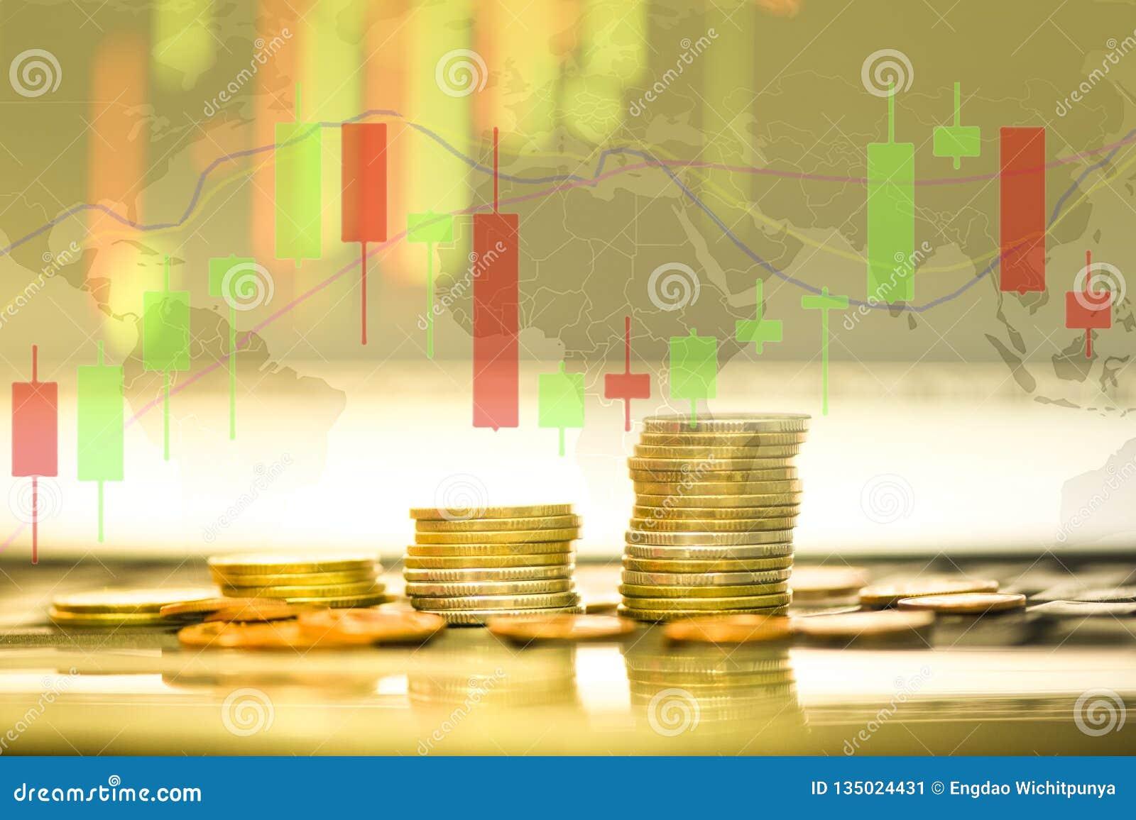 储蓄外汇贸易金币投资-企业财政委员会显示股票未来贸易烛台图表图