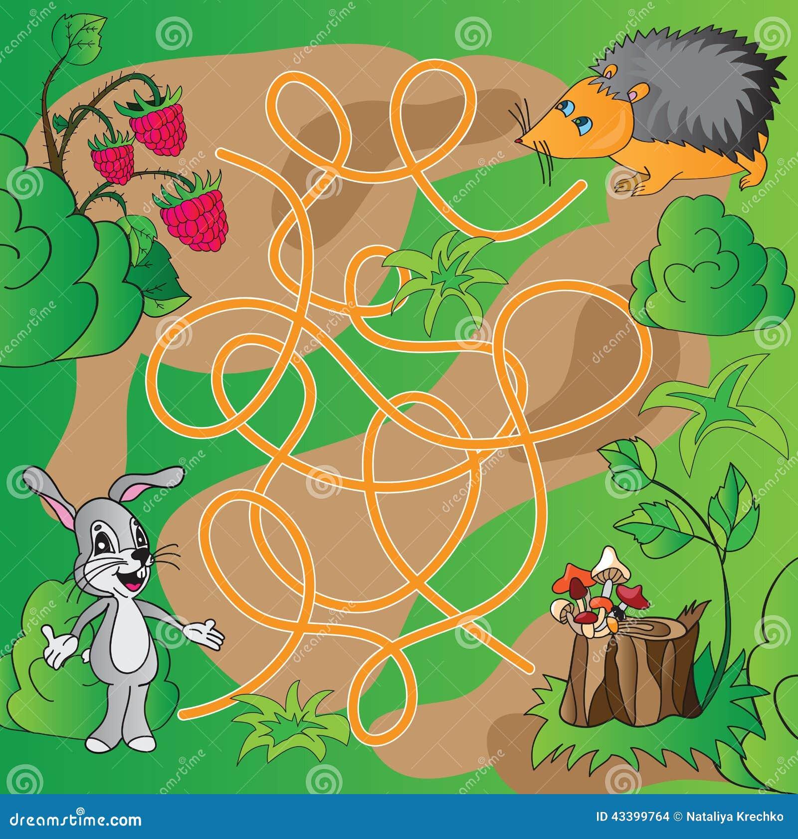 儿童的难题-迷宫
