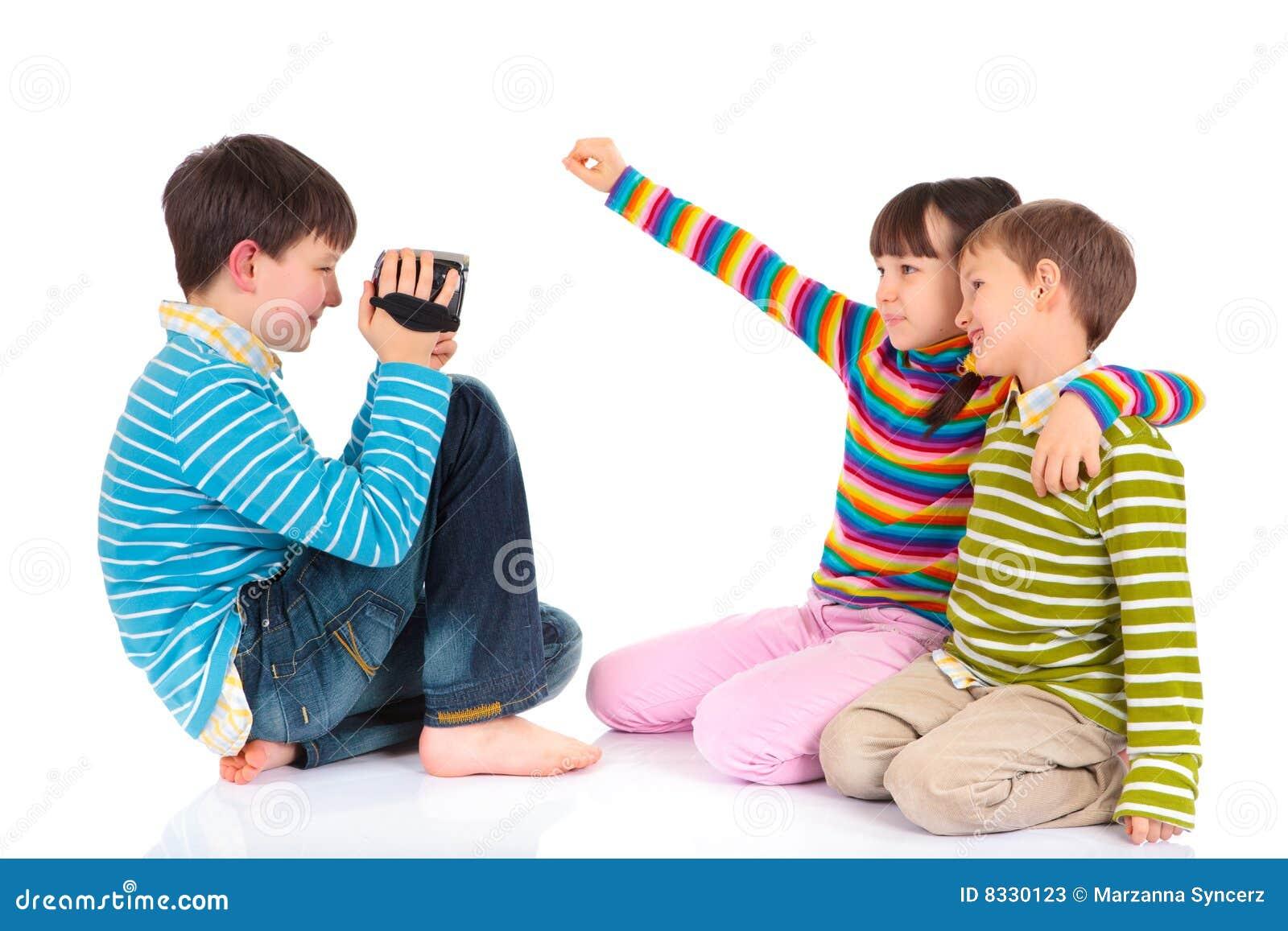 儿童记录员录影