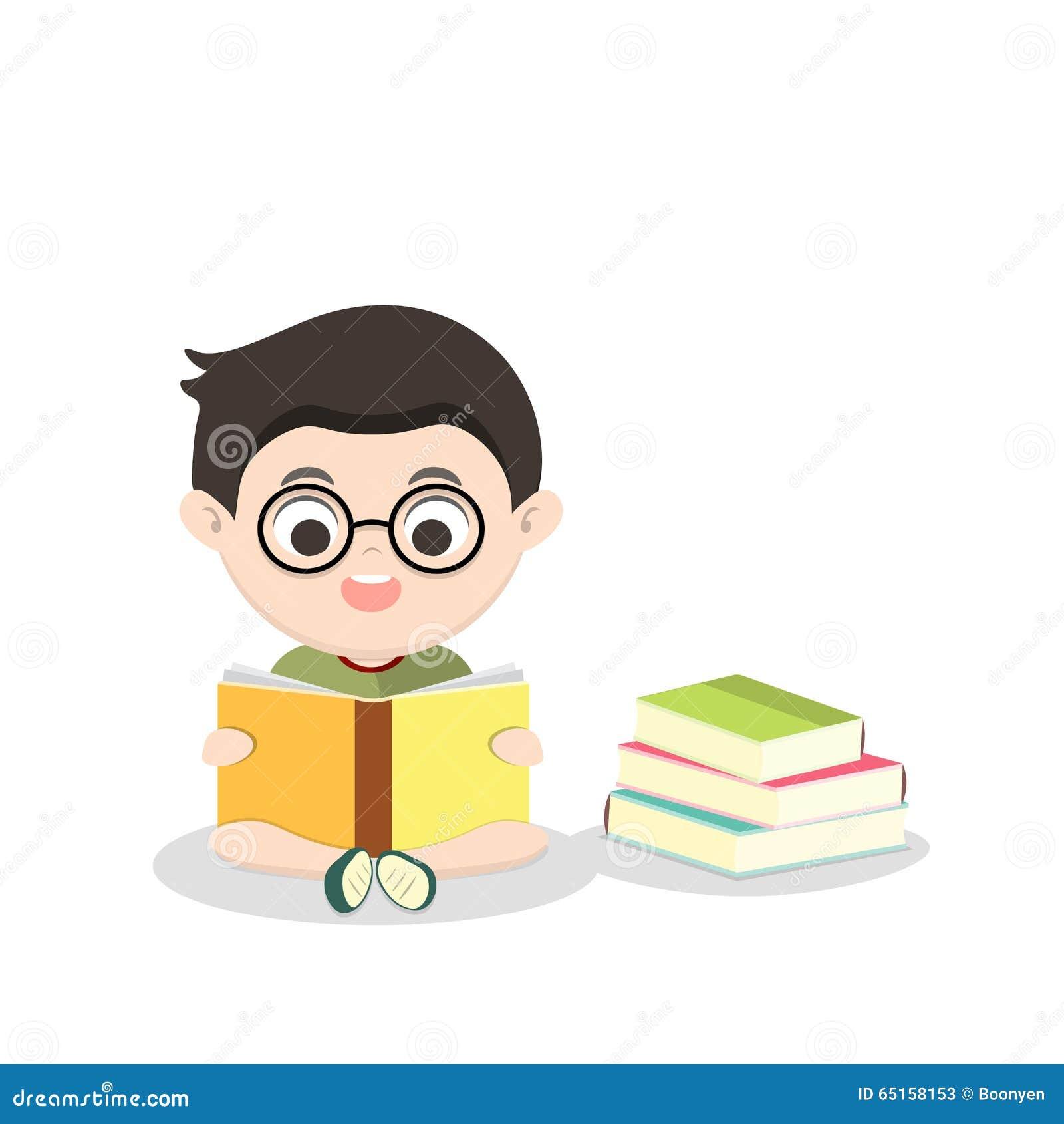儿童阅读书传染媒介例证.