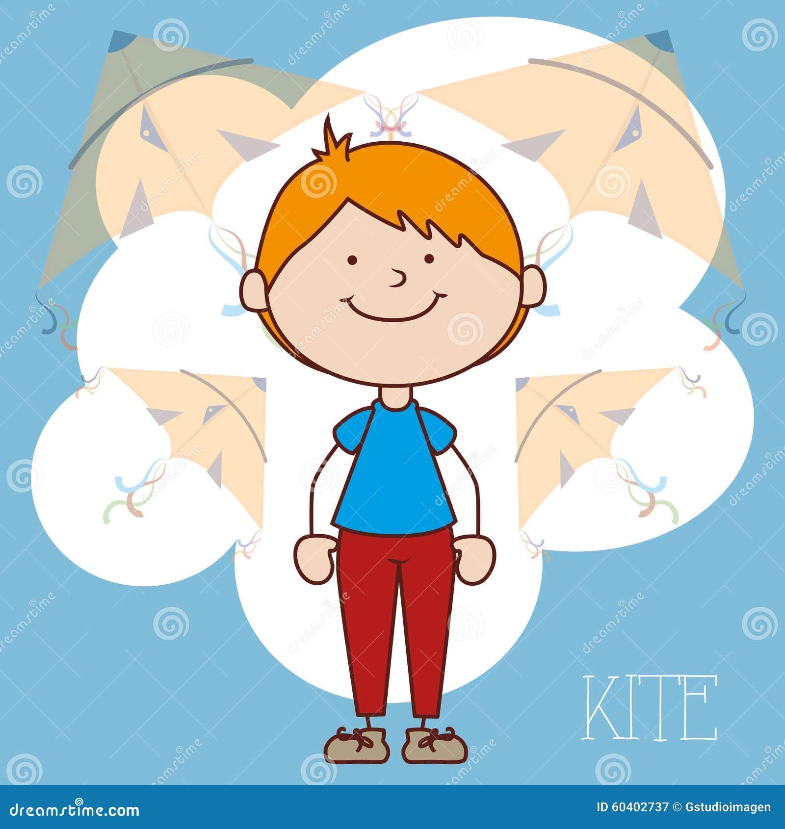 儿童飞行风筝