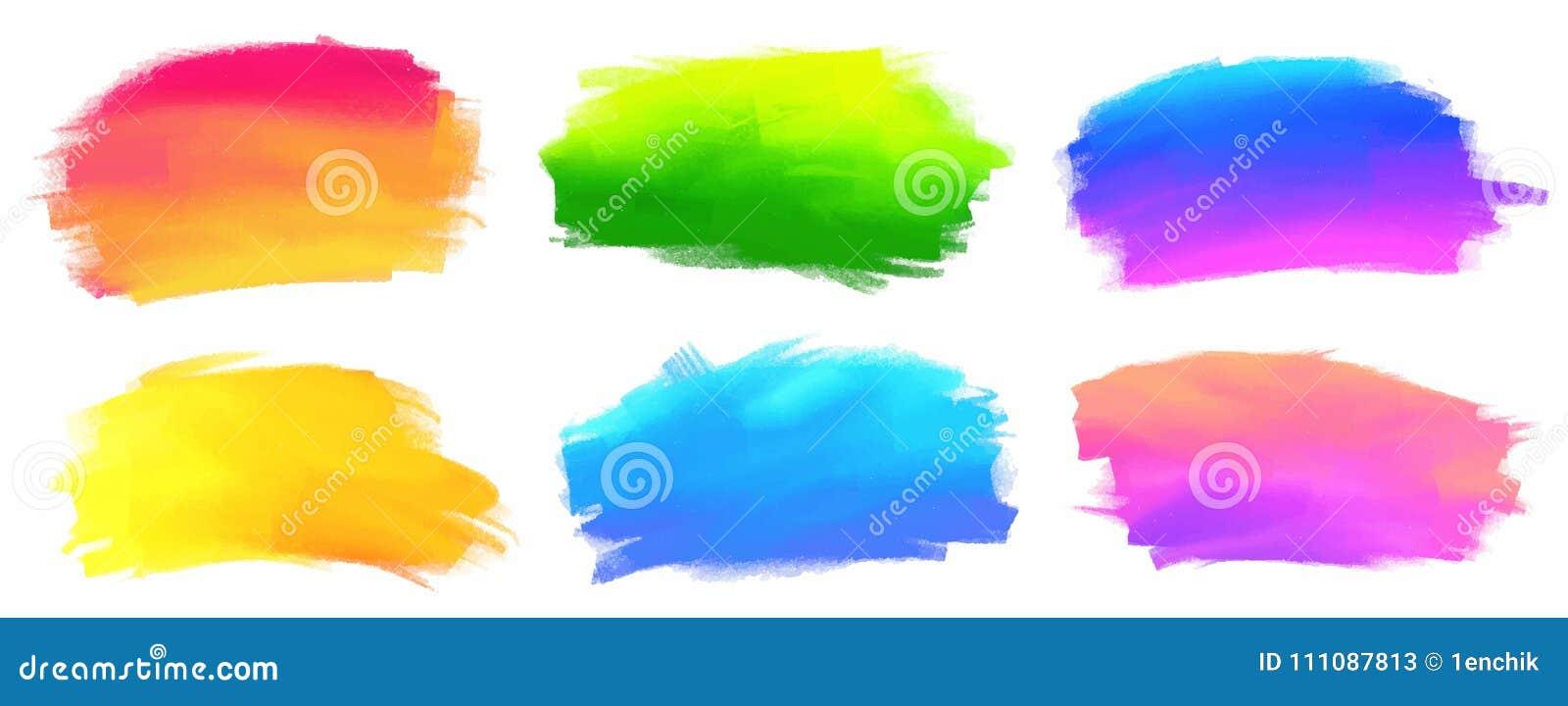 充满活力的光谱上色传染媒介丙烯酸漆污点