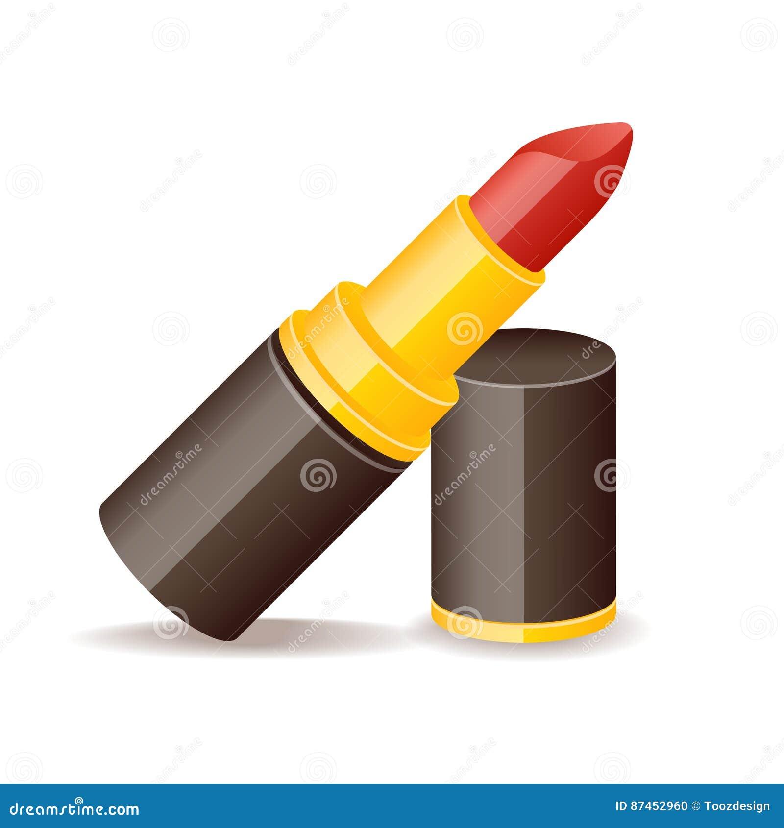 光滑的象化妆用品时尚秀丽唇膏