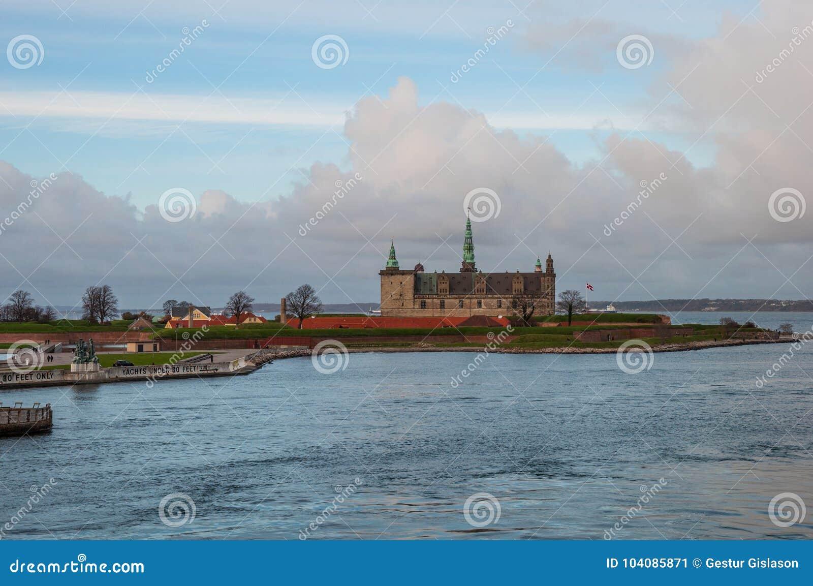 克伦堡城堡在丹麦