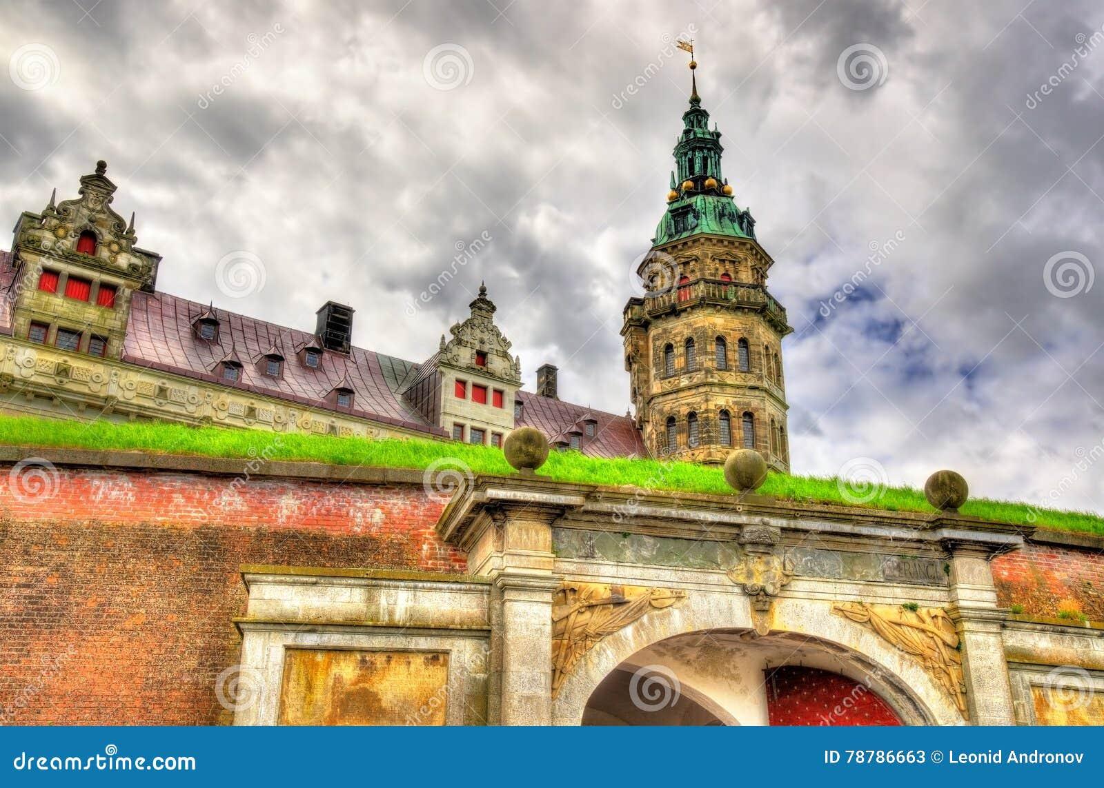克伦堡城堡,叫作在哈姆雷特-丹麦的悲剧的Elsinore
