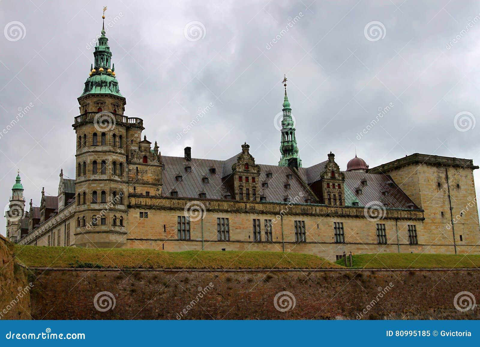 克伦堡或Elsinore城堡在哥本哈根,丹麦