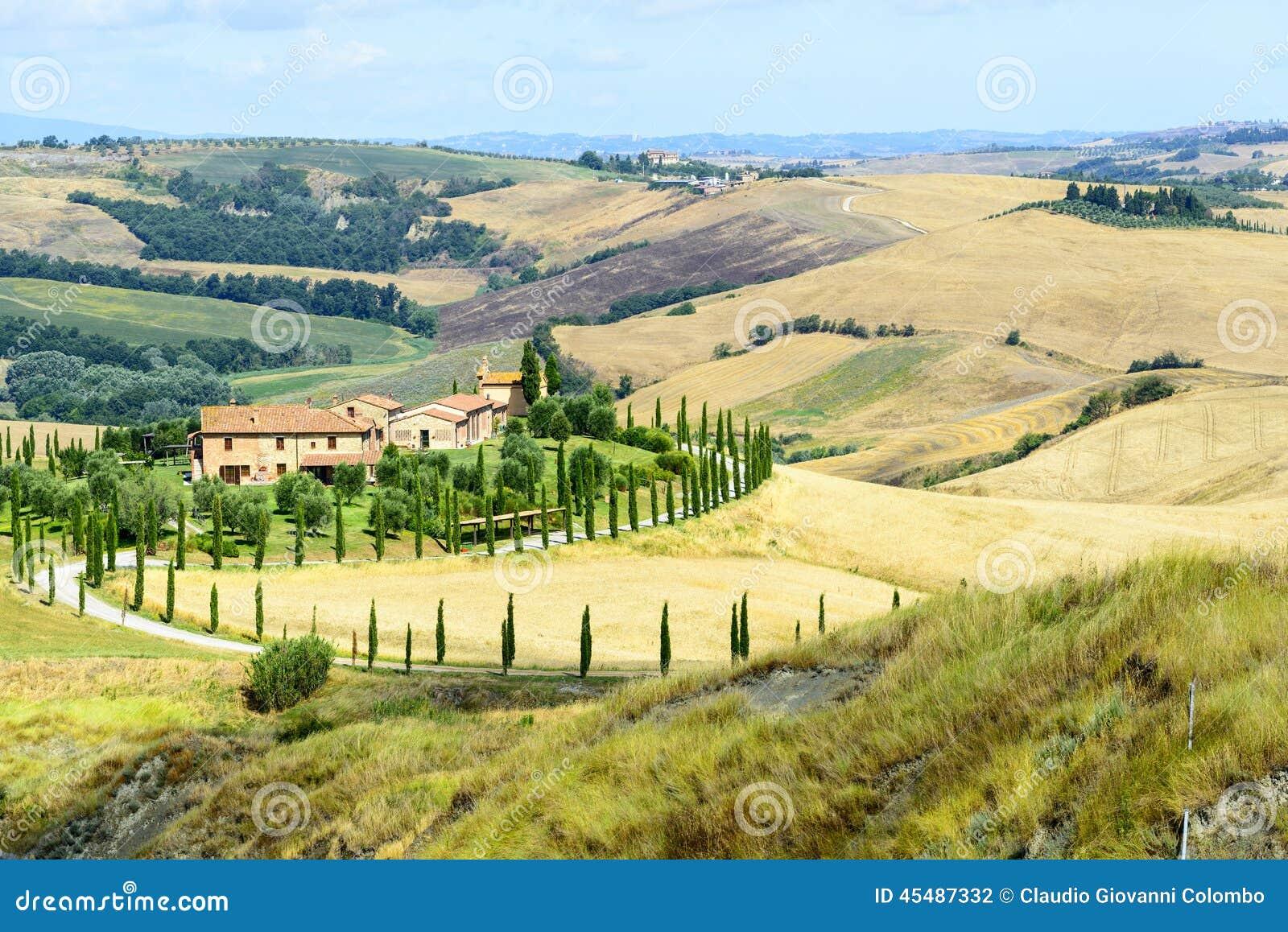 克利特Senesi (托斯卡纳,意大利)