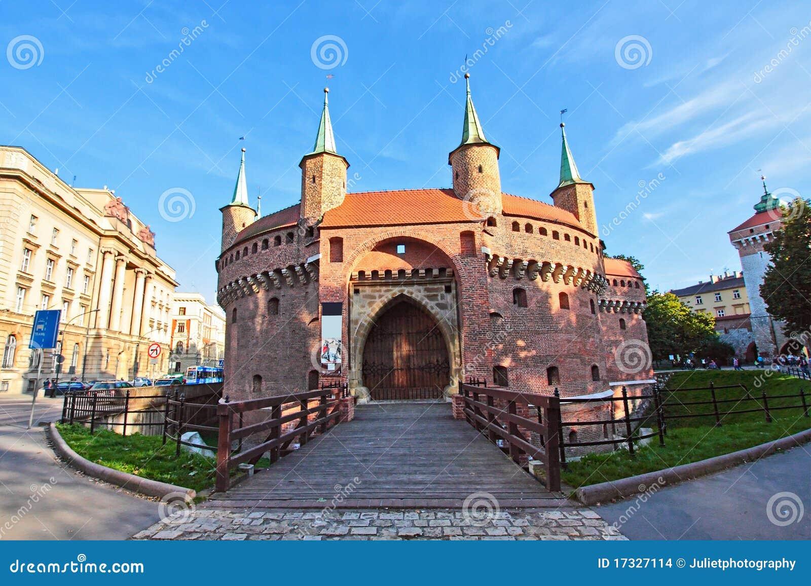 克拉科夫老城镇