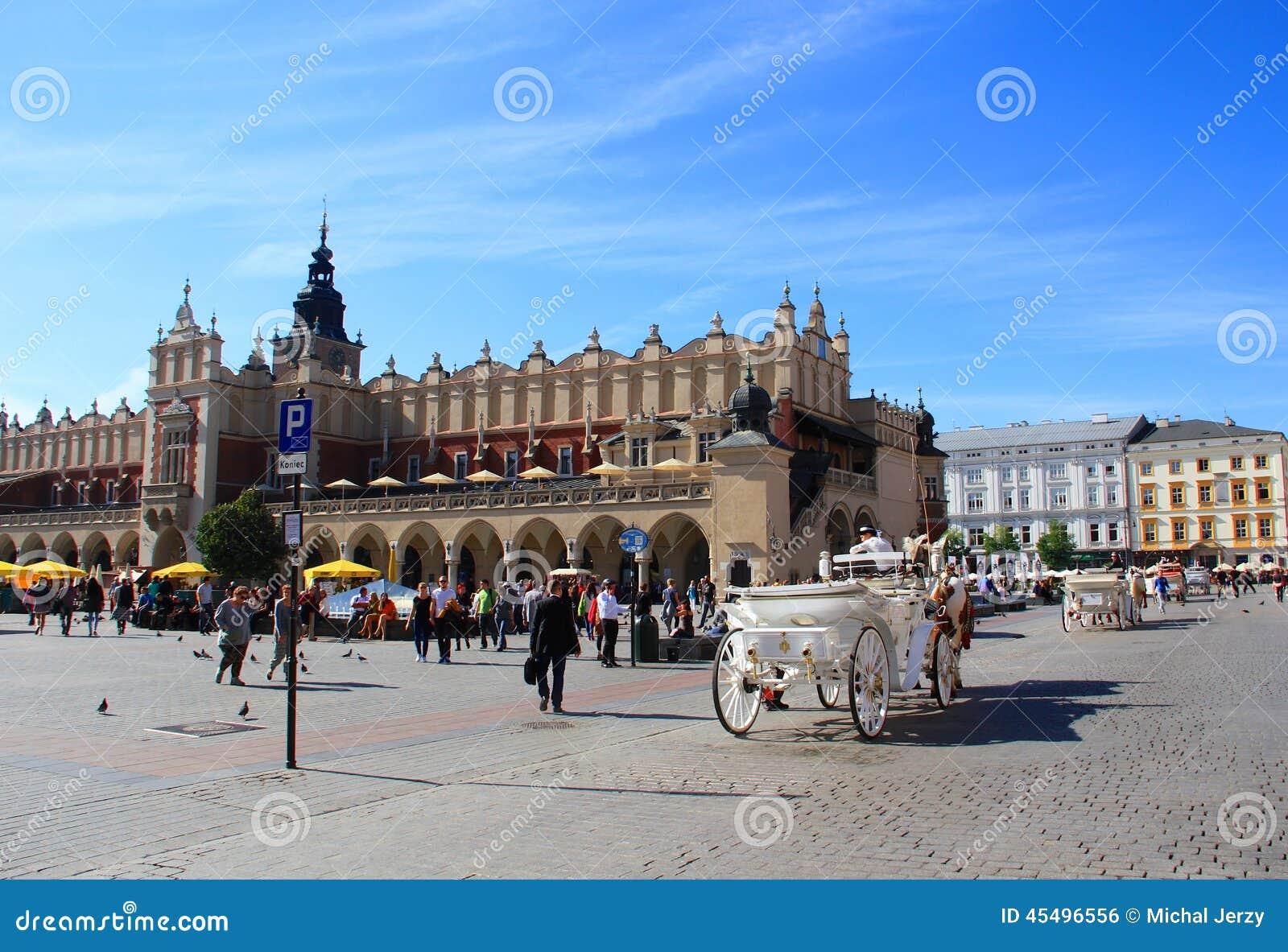 克拉科夫,主要集市广场