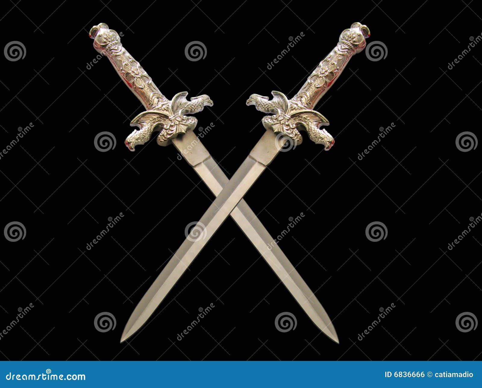 克服的黑暗的剑