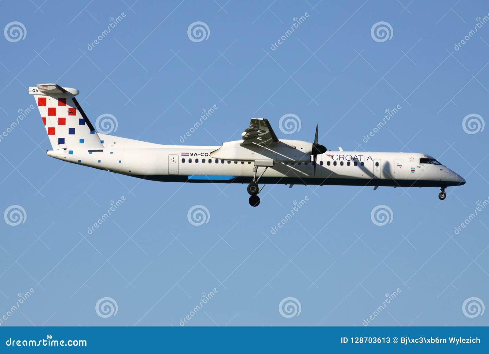 克罗地亚投炸弹者破折号8 Q400