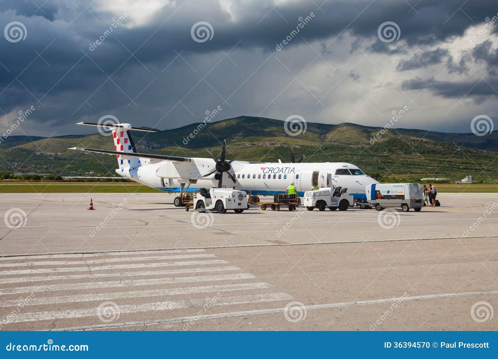 克罗地亚航空公司破折号8 Q400