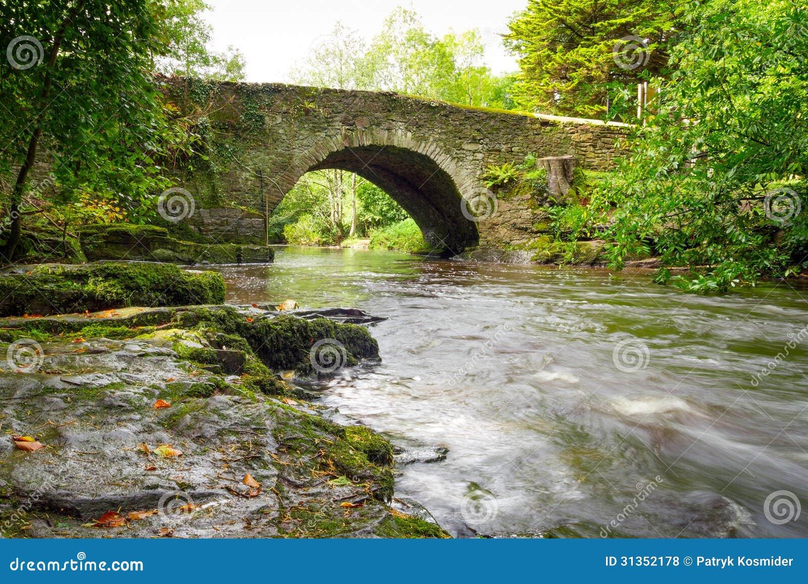 克莱尔幽谷美丽的小河