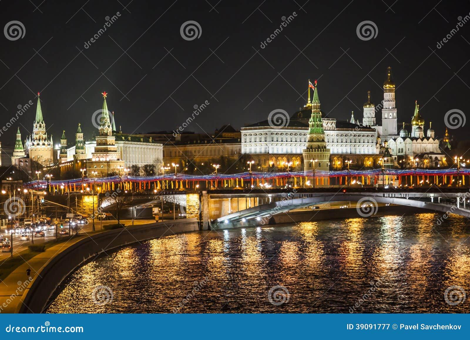 克里姆林宫和莫斯科河
