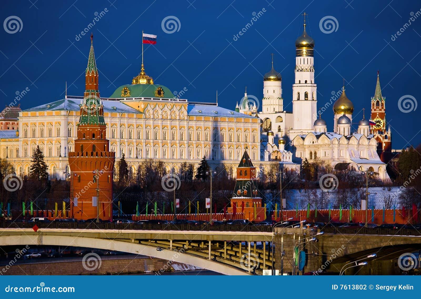 克里姆林宫莫斯科俄国
