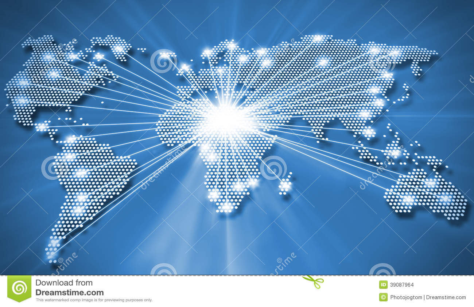 全世界连接图片