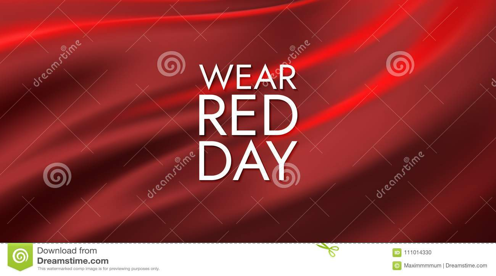 全国穿戴红色天